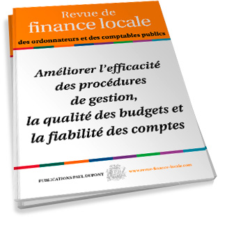 REVUE DE FINANCE LOCALE